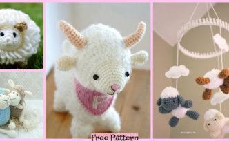 8 Cutest Crochet Sheep Amigurumi Free Patterns