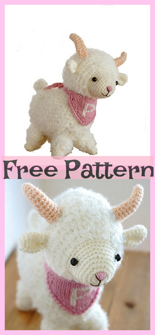 8 Cutest Crochet Sheep Amigurumi Free Patterns