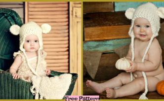 diy4ever-Crochet Bear Hat - Free Pattern