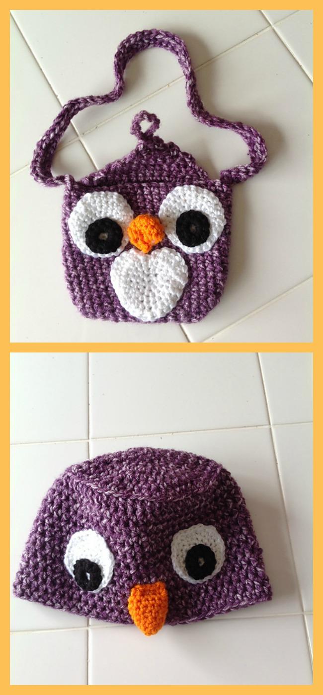diy4ever-Crochet Cute Owl Hats - Free Patterns
