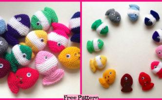 diy4ever-Crochet Fish Candy - Free Pattern