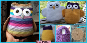 diy4ever-Crochet Three Fat Owls - Free Pattern