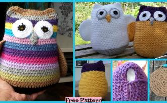 diy4ever-Crochet Three Fat Owls - Free Pattern