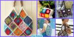 diy4ever-12 Crochet Square Bag Free Patterns