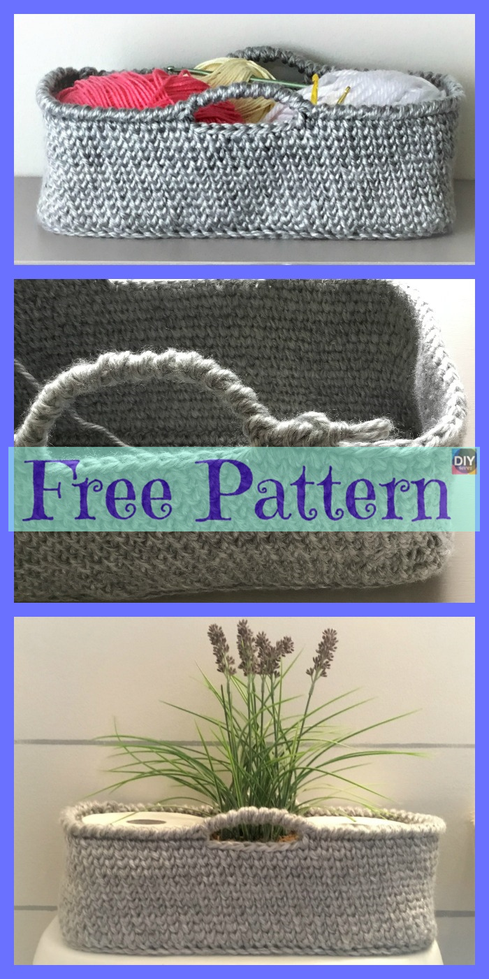 Chrochet Chic Baskets - Free Patterns