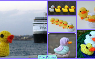diy4ever-Crochet Duck Amigurumi - Free Patterns