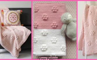 diy4ever-Crochet Velvet Throw - Free Patterns