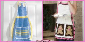 diy4ever- Cute Crochet Aprons - Free Pattern