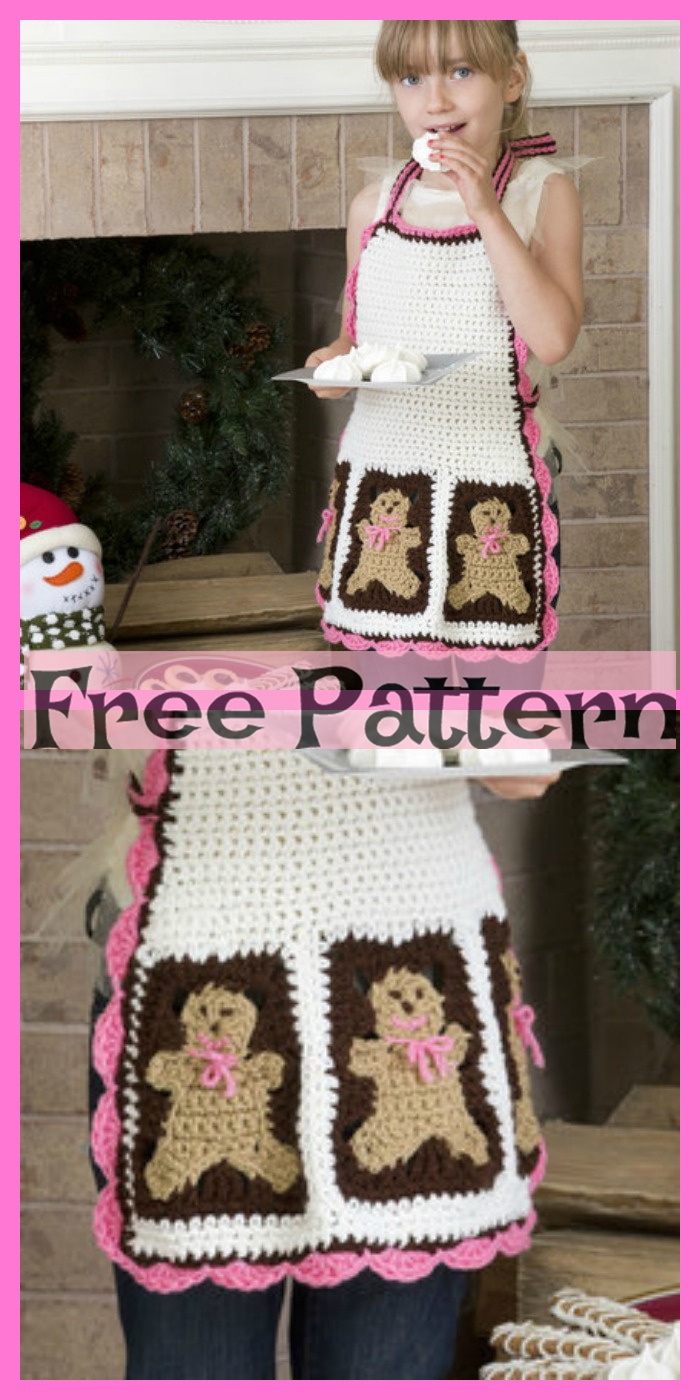 diy4ever- Cute Crochet Aprons - Free Pattern