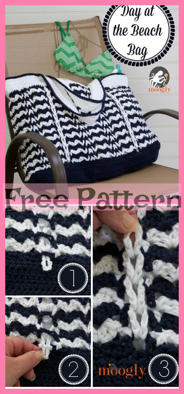diy4ever-8 Beautiful Crochet Beach Bag Free Patterns