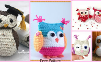 diy4ever-8 Cute Crochet Little Owls - Free Patterns