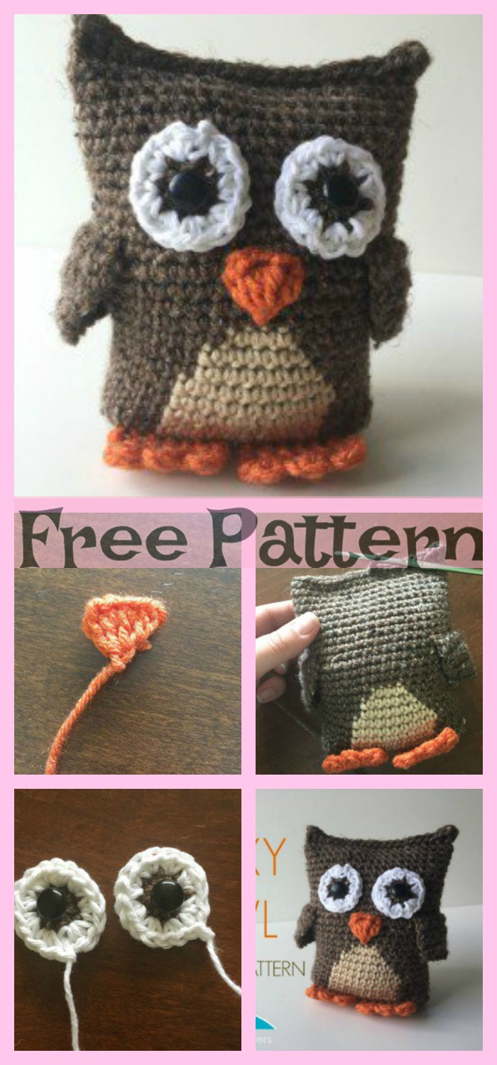diy4ever-8 Cute Crochet Little Owls - Free Patterns