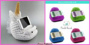 diy4ever-Crochet Cell Phone Holder - Free Pattern