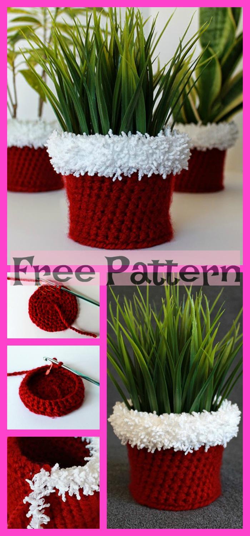 diy4ever-Crochet Fabulous Planter - Free Patterns