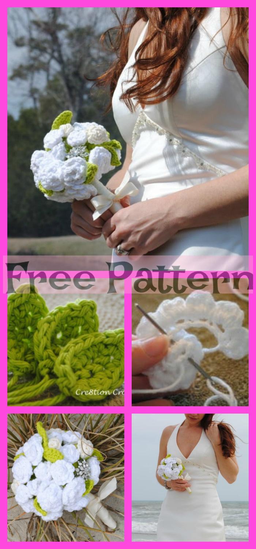 diy4ever-6 Wonderful Crochet Roses - Free Patterns