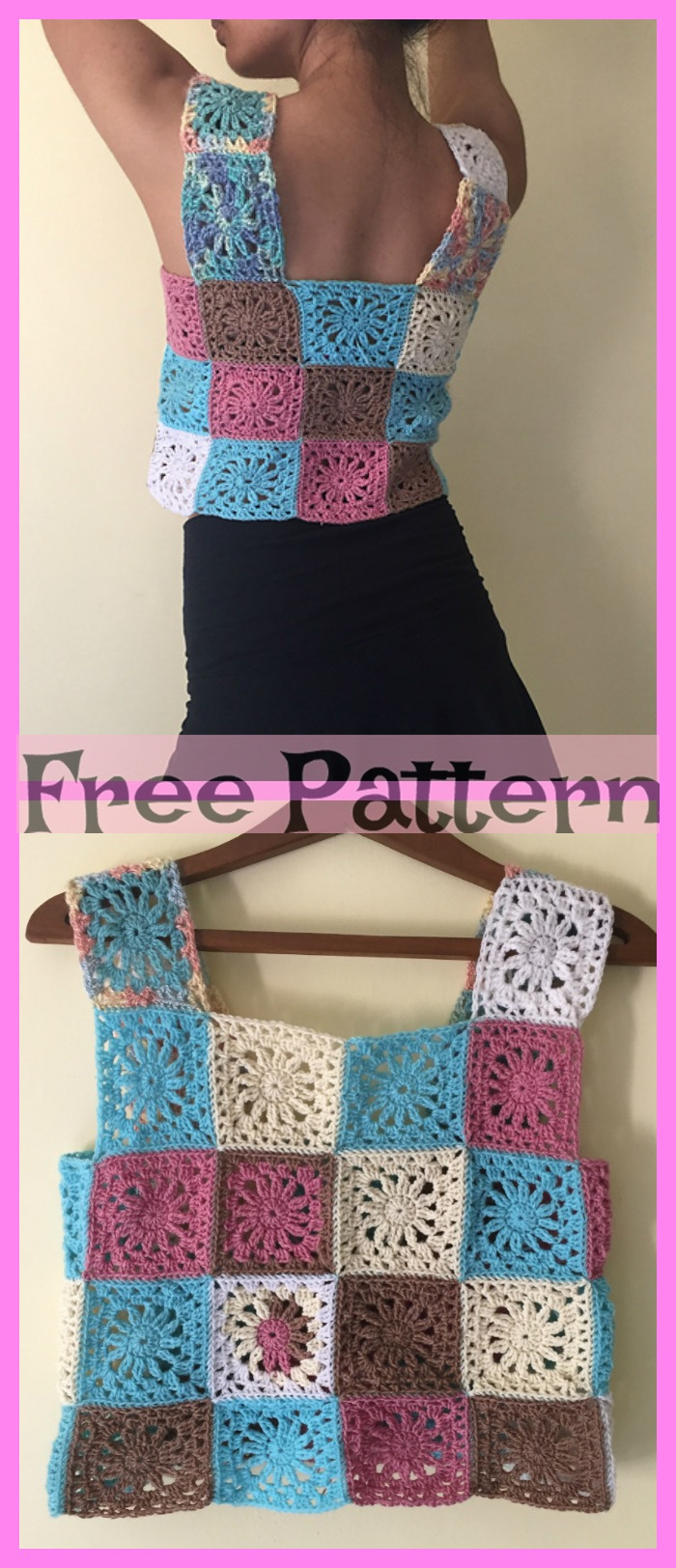 diy4ever- 10 Crochet Lace Crop Top Free Patterns