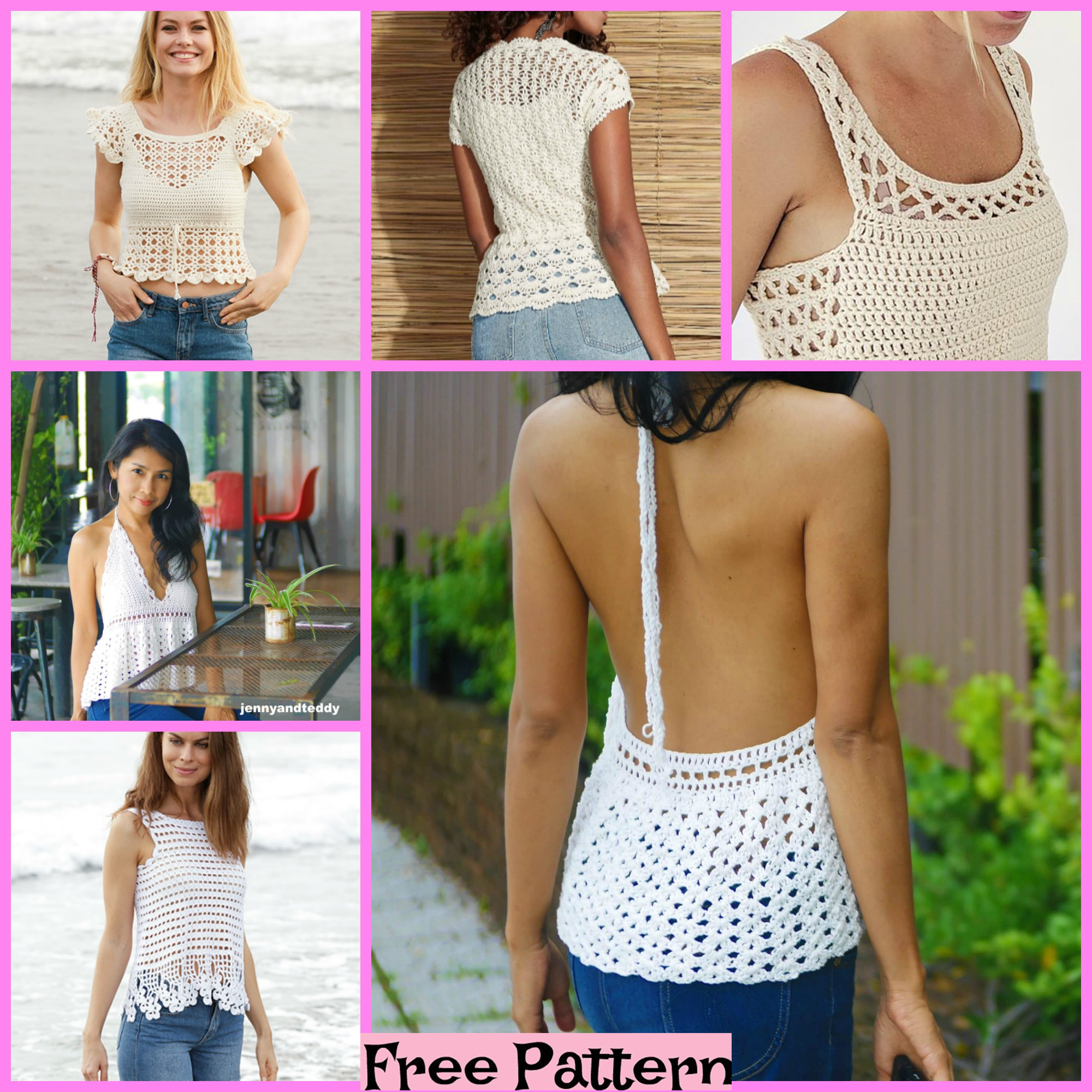 diy4ever-5 Most Beautiful Lace Tops - Free Pattern