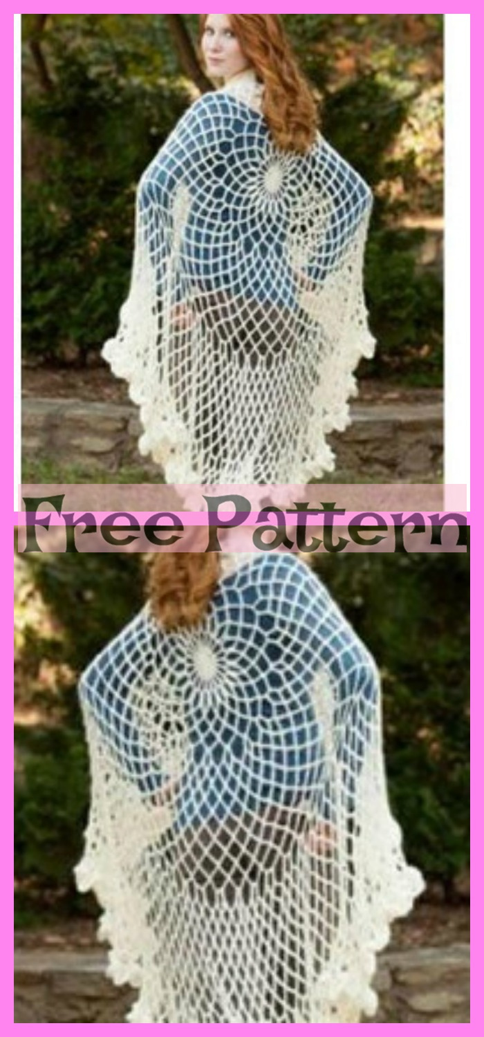 diy4ever-6 Crochet Shoulder Wrap Free Patterns 2