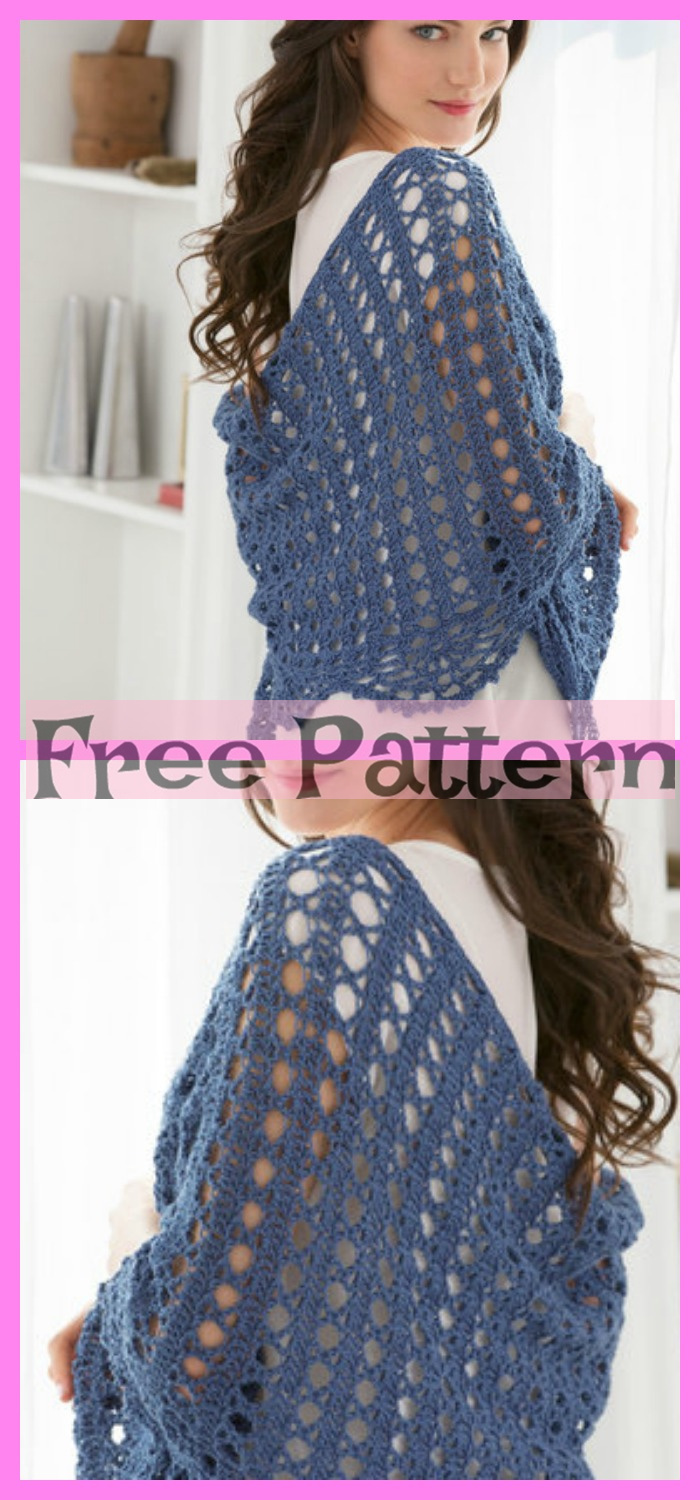 diy4ever-6 Crochet Shoulder Wrap Free Patterns 3