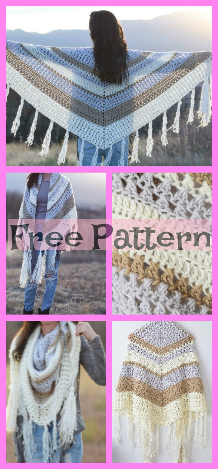 diy4ever-6 Crochet Shoulder Wrap Free Patterns 4