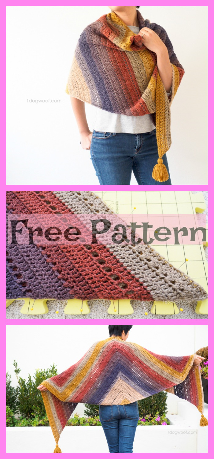 diy4ever-6 Crochet Shoulder Wrap Free Patterns 5